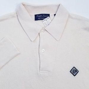 Ralph Lauren Golf Collection Rugby Shirt Sz L NWT